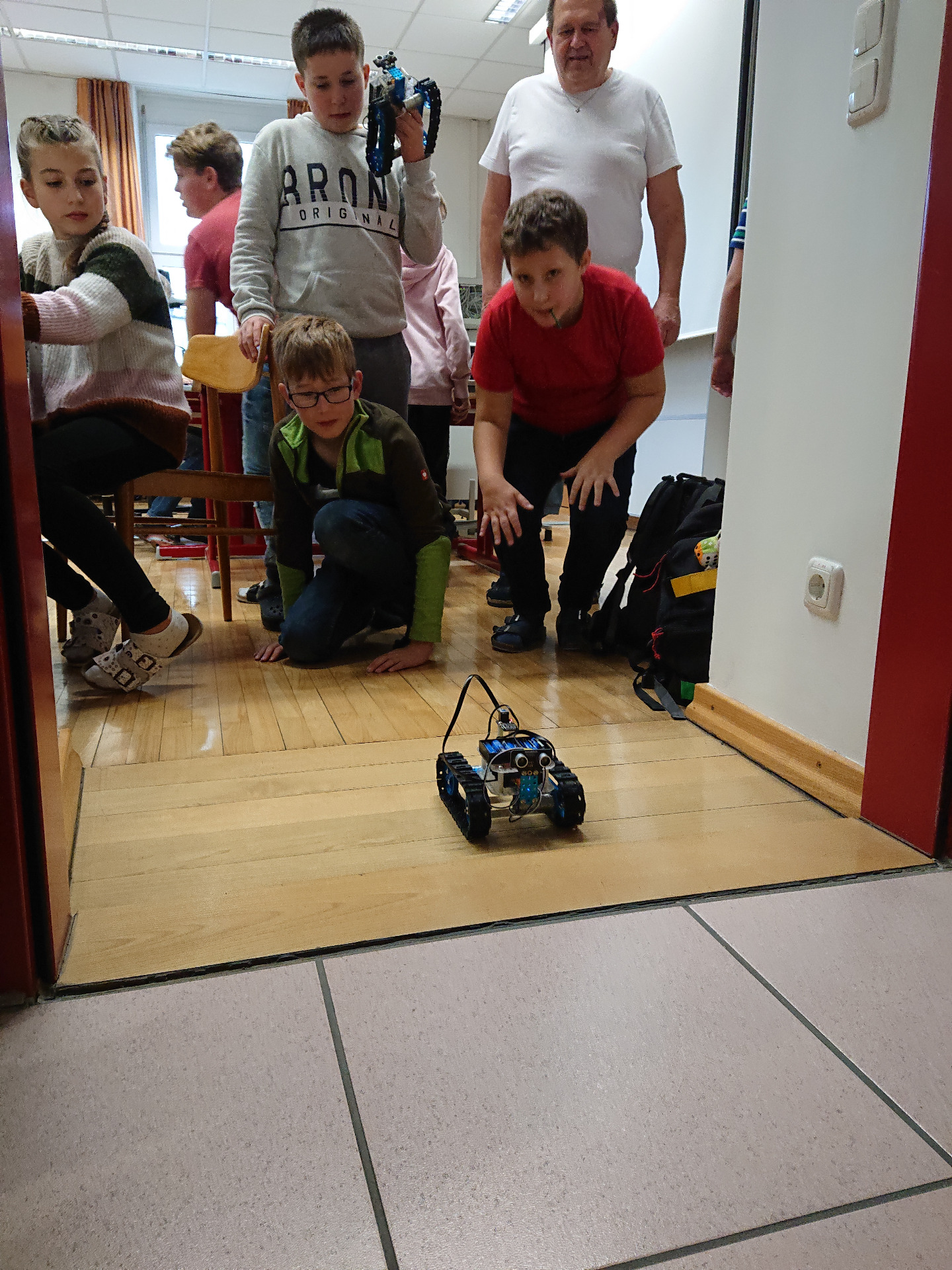 Workshop Robotik - Bild 1